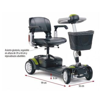 Ortopedia SACH Scooter lux 'ECLIPSE PLUS'